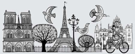 Paris-symbols-elements-vector-03-450x181