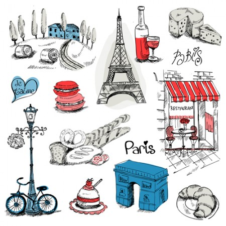 Paris-symbols-elements-vector-04-450x450