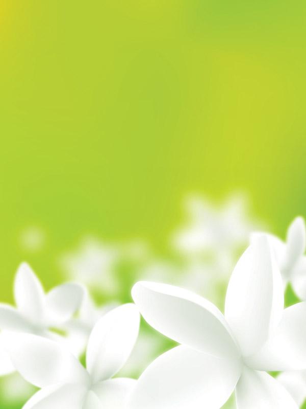 ボカシがきれい 南国の花プルメリアのイラスト素材 Eps Free Style All Free