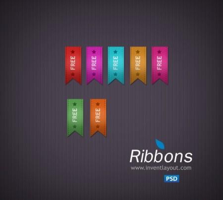 Ribbon-Free-PSD-450x403