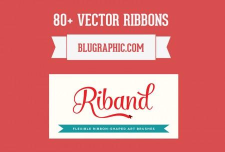 Ribbons Illustrator