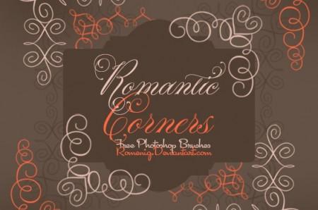 Romantic Corners Brush Set