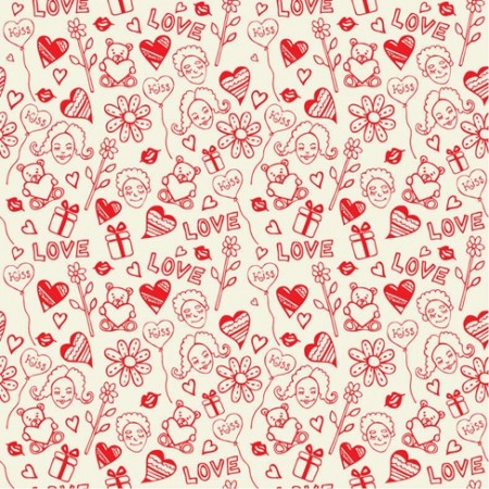 Romantic-Love-Seamless-Pattern-Vector-450x450