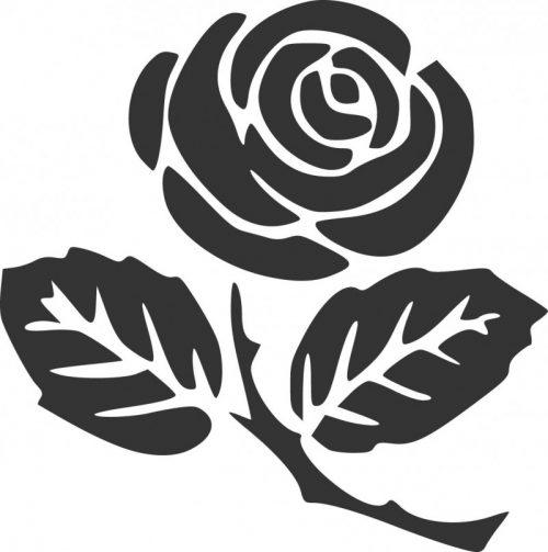 rosesilhouette