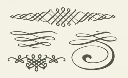 SET-OF-CALLIGRAPHIC-DESIGN-ELEMENTS-450x276