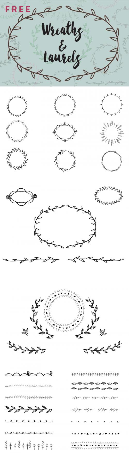 SSFS_Wreaths_Laurels-500x1748
