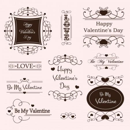 Set-of-labels-and-ornaments-elements-vector-05-450x450
