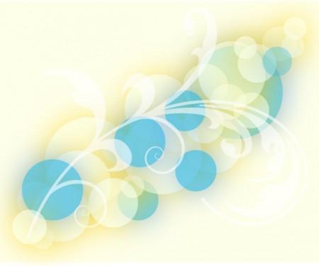 Sparkle Floral Background