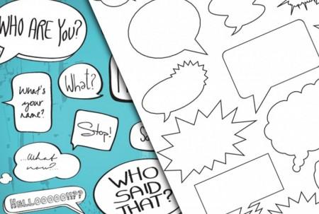 Speech Bubble Vector Various