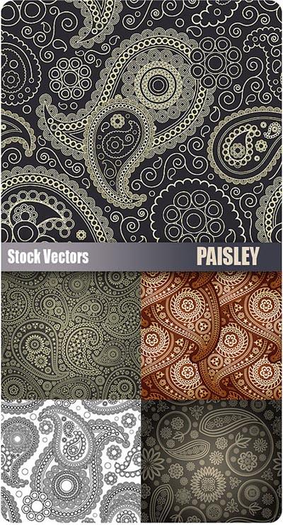 Stock-Vectors-Paisley