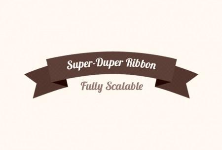 Super-Duper Ribbon