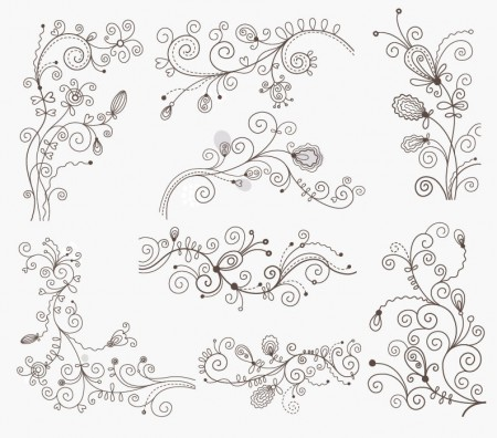 Swirl-Floral-Decorative-Elements-Vector-Graphic-Set-450x396