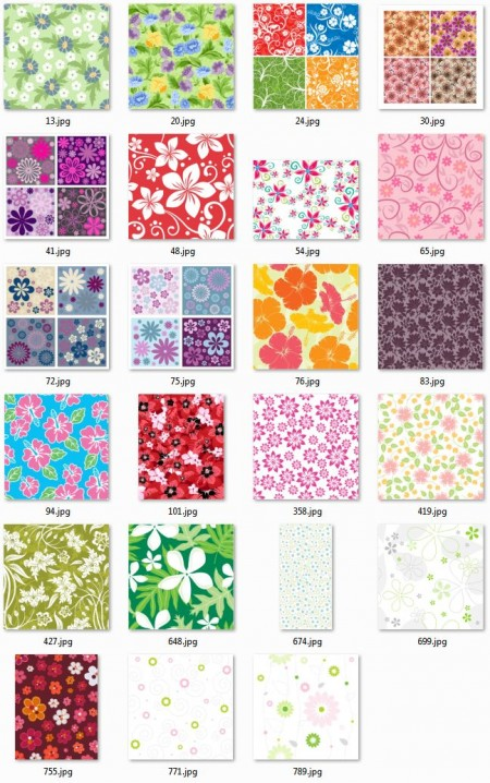 Tileable-Flower-Vector-Patterns-450x718