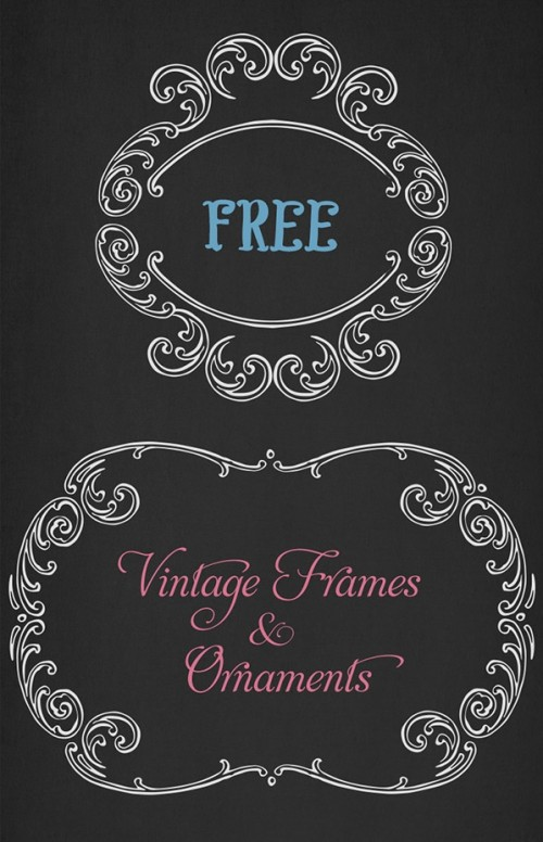 VGOSN-Free-Vintage-Frames-Ornaments-02