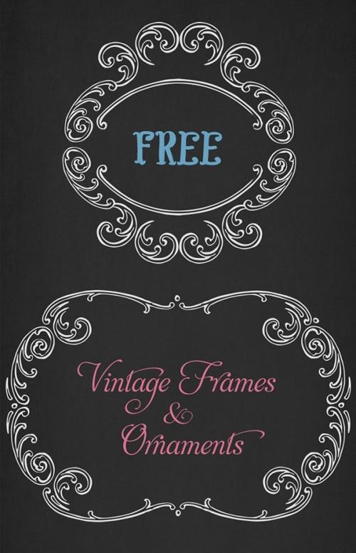 VGOSN-Free-Vintage-Frames-Ornaments-02
