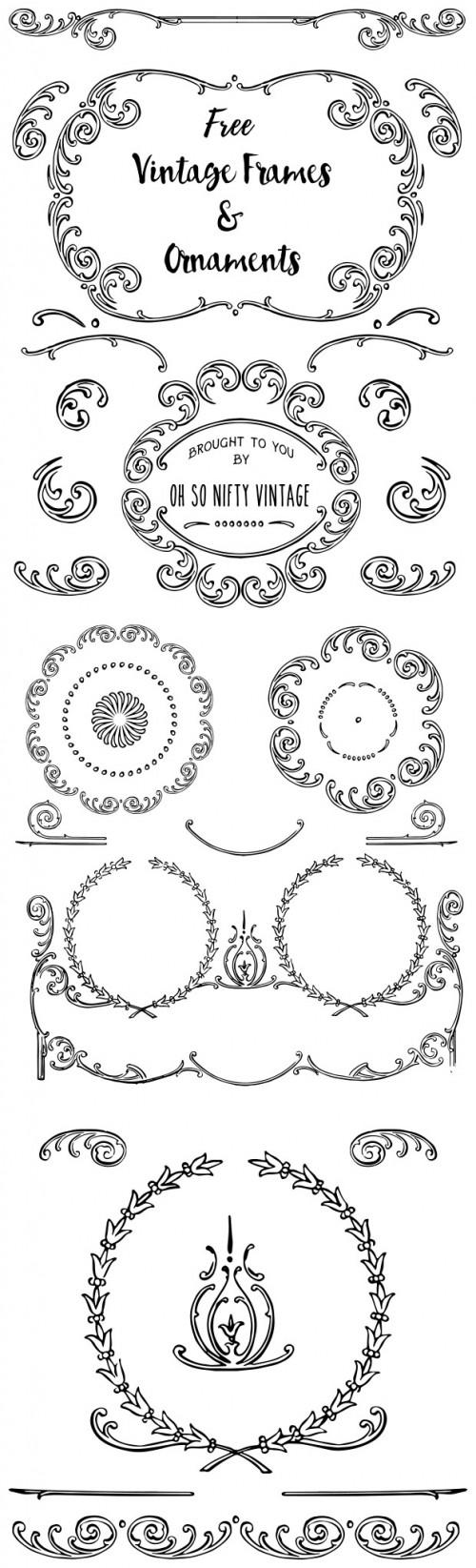 VGOSN-Free-Vintage-Frames-Ornaments-prev-2