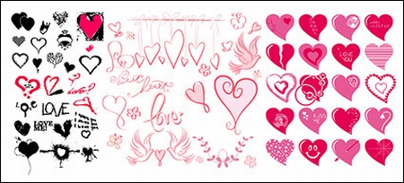 Variety_of_different_styles_of_heart_shaped_vector_graphics