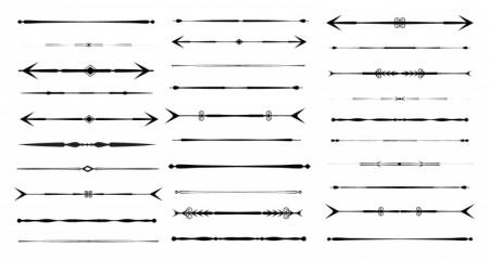 Vector Arrow Design Dividers - Photoshop Graphics 60