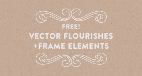 Vector Flourishes + Frame Elements