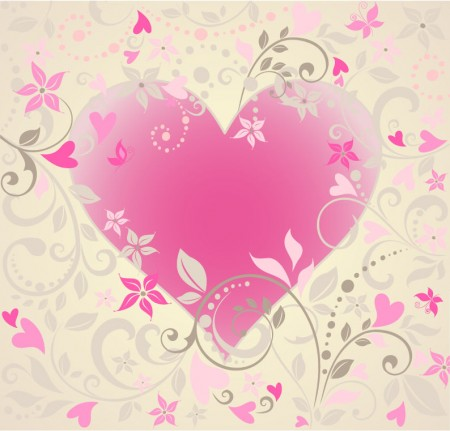 Vector-Heart-with-Floral-Ornament-450x431