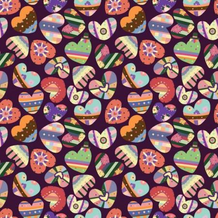 Vector-Multicolor-Hearts-Background-450x450