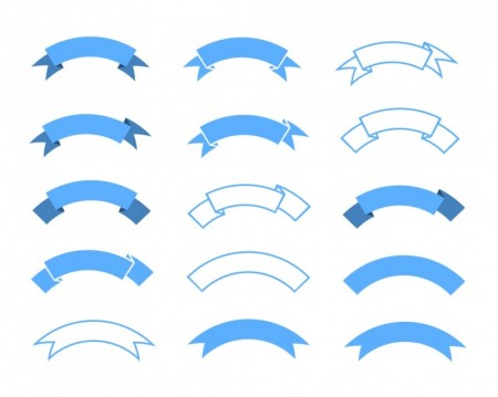 Vector-Ribbons-design