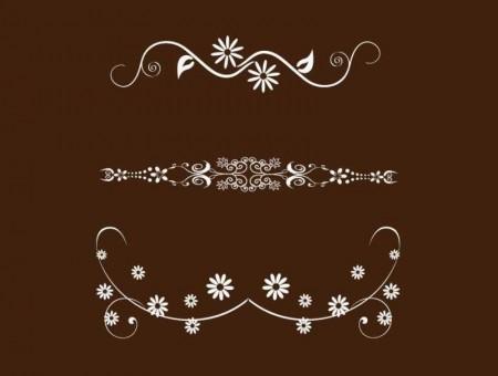 Vector-Set-of-Vintage-Floral-Design-Elements-02-450x340