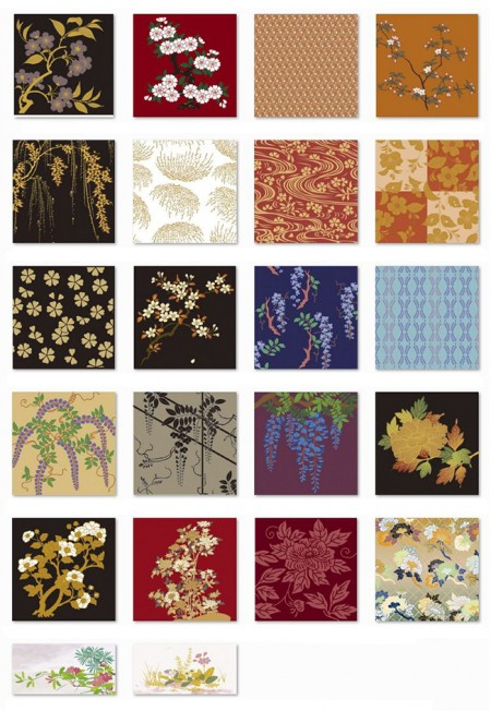 Vector of Japanese traditional pattern-1338-02