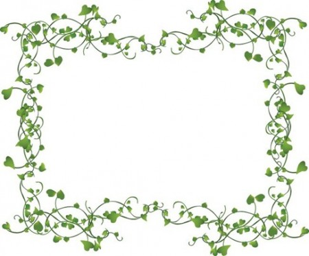 Vines-Frame-Vector-450x373