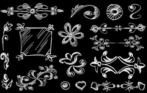 Vintage-Hand-Drawn-Floral-Borders-Vector-04-500x318