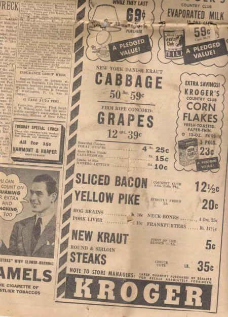 Vintage News Paper I by LogicalXStock