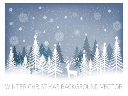 Free Winter Vector Graphics