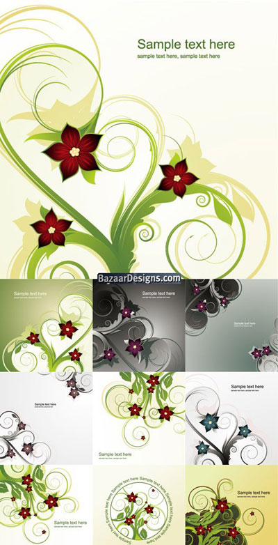 abstract-floral-background