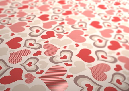 background-of-hearts-vector-sample-450x318