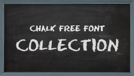 blackboard2 450x256 黒板に書いたチョークみたいな英字フリーフォントまとめ   Free Style