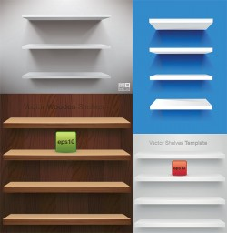blank-display-shelf-vector-material-display-stand-wood-bookcase