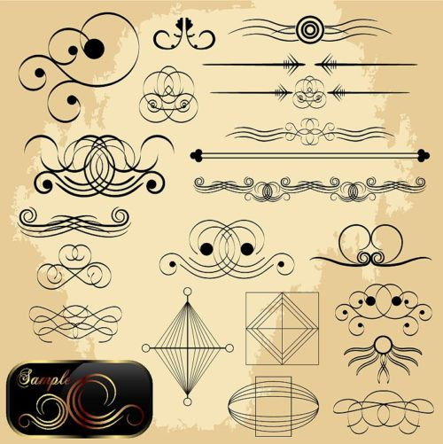 calligraphic-elements-collection-1-500x501