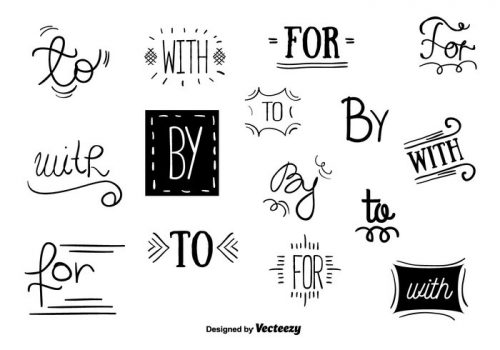 catchwords-vector-set-500x350