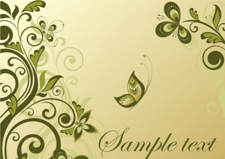 elegant-line-flowers-Pattern-background-450x317