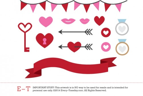 every-tuesday-valentine-vectors