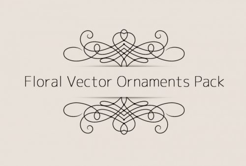 free-floral-vector-ornaments-pack