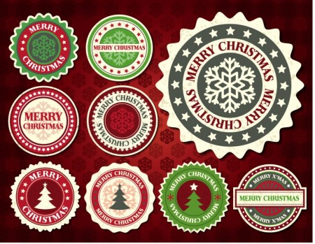 free-vector-christmas-snowflake-pattern-label-01-vector_022980_1
