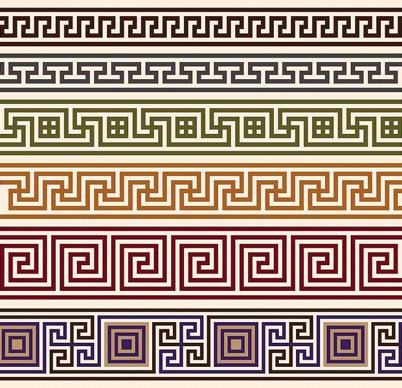 Greek Meander Pattern