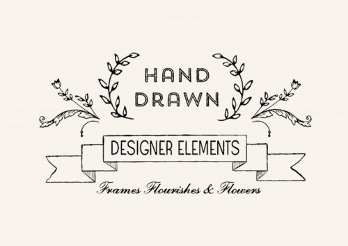 hand drawn designer elements 01