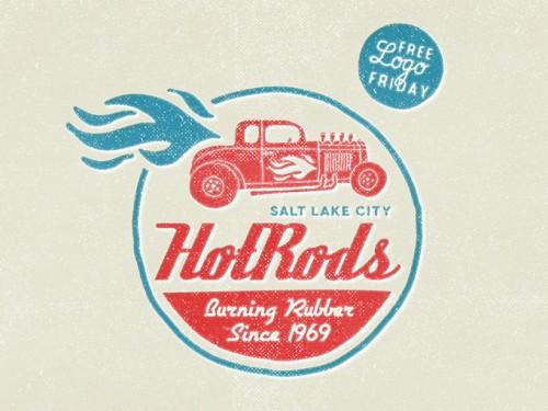 hotrods-logo-typography-free-500x375