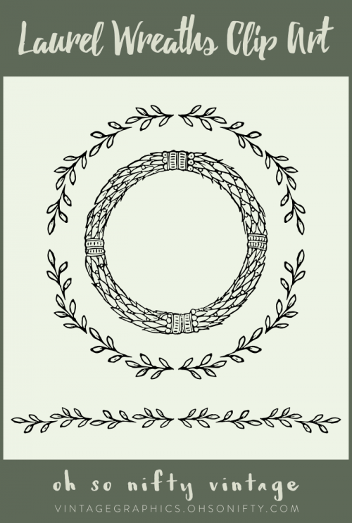 lovely-stock-images-laurel-wreaths-clip-art-vectors