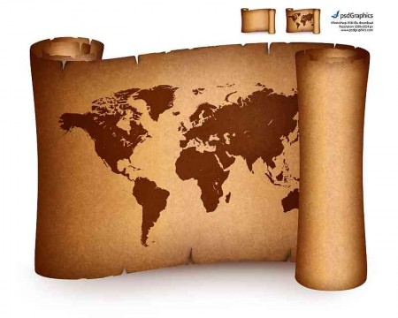 old-world-map-on-vintage-paper-scroll-450x360