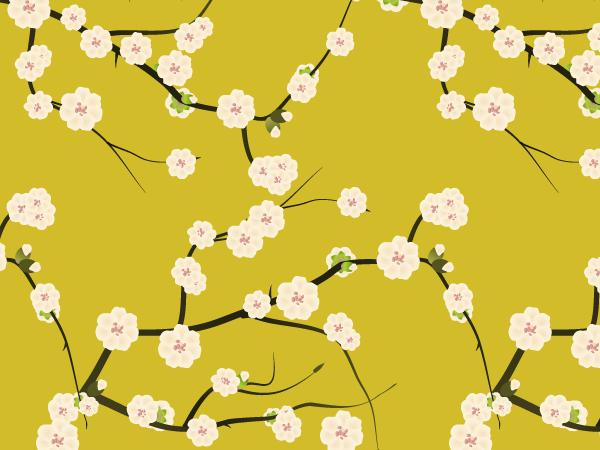 商用でも使える春の花無料ベクター背景素材aiepspdf Free