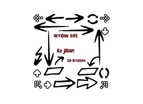 photoshop-brush-set-arrows