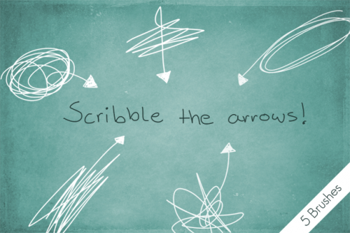 scribble_the_arrows__by_byjanam-d58jxwd